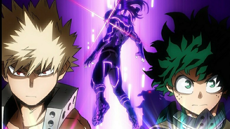 My Hero Academia: Heroes Rising reveals new key art for Blu-ray DVD release