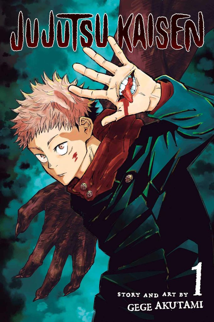 Jujutsu Kaisen volume 1 Cover
