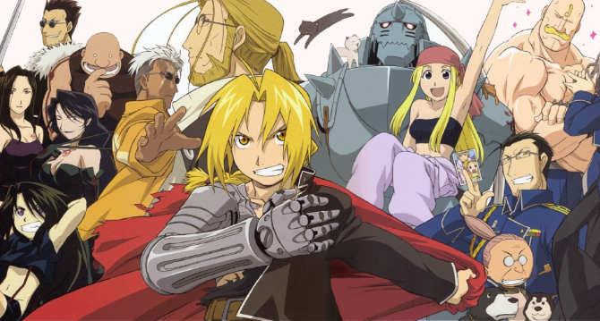 The 2 brothers meet again. Will Edward Elric to get his powers back in FMA?