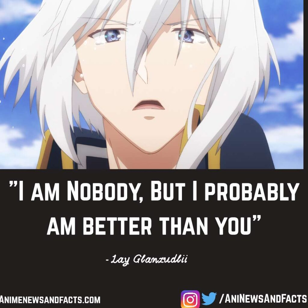 Lay Glanzudlii quote from The Misfit Of Demon King Academy