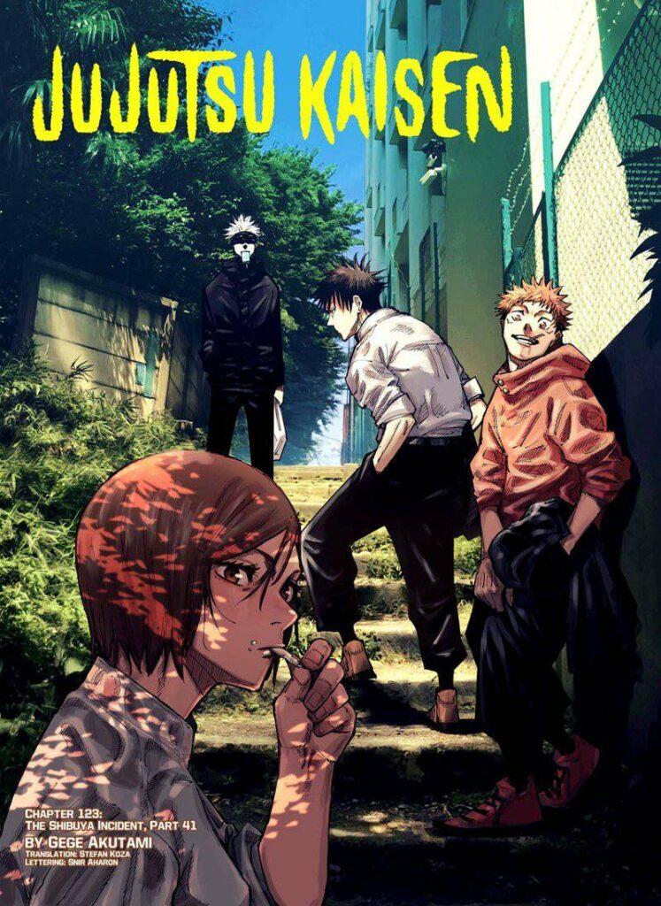 Jujutsu Kaisen chapter 124 updates