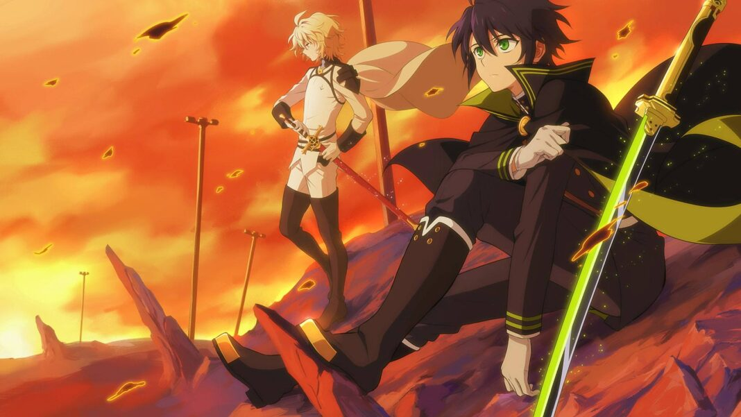 Seraph of the end chapter 102