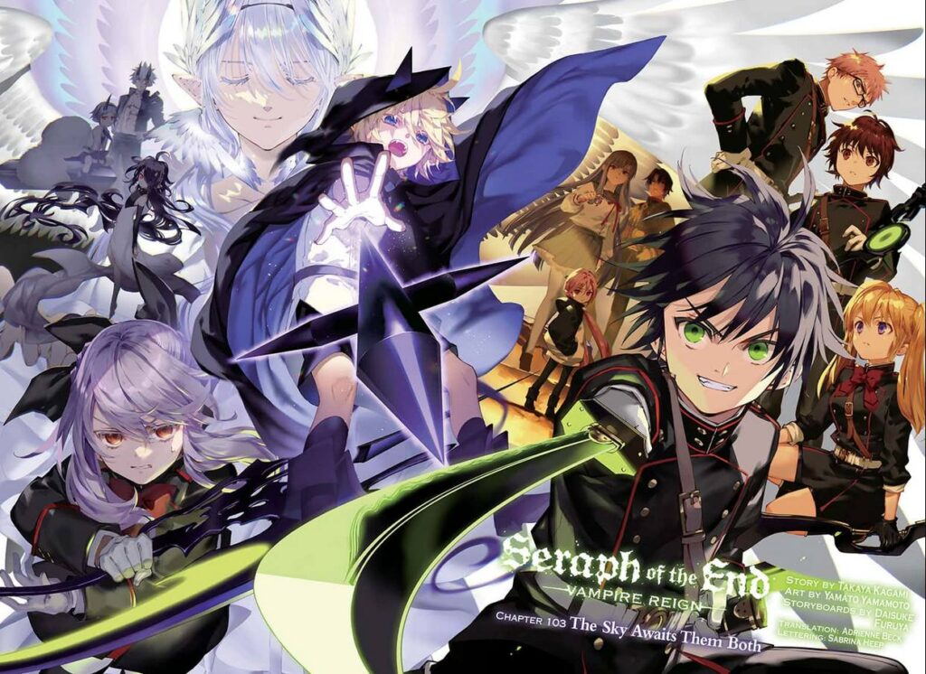 Seraph of the end chapter 104